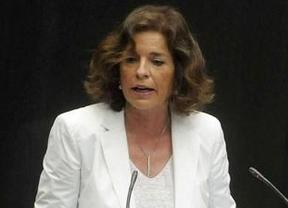 Ana Botella promete conservar los restos de Miguel de Cervantes