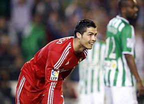 La suerte del campeón se alía con el Madrid, vencedor injusto pero vencedor ante el Betis (2-3)
