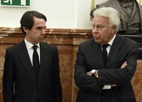 Felipe González y Aznar juntos contra el gobierno de Maduro