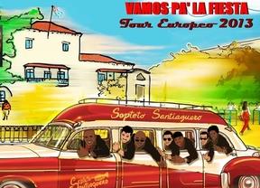 'Vamos p'a la fiesta'... con el Septeto Santiaguero, que inicia en Madrid su gira europea 2013