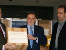 La Delegación del Gobierno recoge más de 8.000 kilogramos de alimentos para donarlos