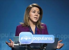 Cospedal explica que en 2010 se pactó con Bárcenas una indemnización