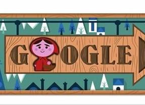 Caperucita vuelve a verse las caras con el malvado lobo en un nuevo 'doodle' interactivo