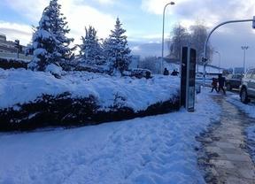 La nieve dejó este miércoles sin colegio a 2.169 alumnos de Castilla-La Mancha