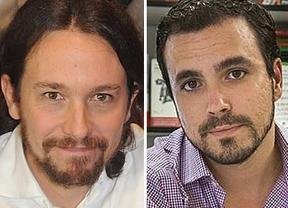 La gran coalición de izquierdas va tomando forma: Alberto Garzón, a favor de concurrir a las generales con Pablo Iglesias