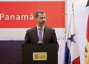 El Príncipe Felipe defiende la 'marca España' en Panamá