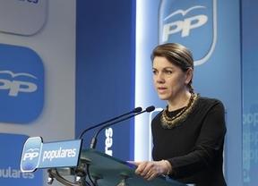 Cospedal responde a la 'insumisión' de Aguirre: 'Madrid sabrá si cumple'