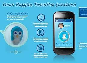 Lanzan una aplicación que avisa a los padres cuando su bebé se hace pis