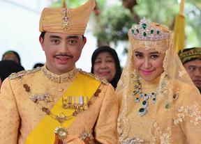 La sencilla boda del sultán de Brunei