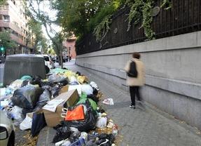 Basurazo en la capital en plena campaña: huelga de basuras desde el 11 de mayo