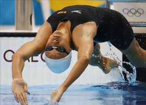 Duane da Rocha repite final en los Mundiales de natación, ahora en 200 espalda