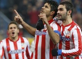 Copa: Diego Costa hace de Falcao y da al Atleti una victoria peligrosa ante un Sevilla peleón (2-1)