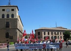 Miles de castellano-manchegos reclaman en la calle a Europa 'el fin de los recortes'