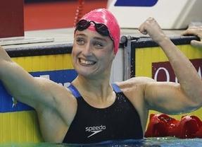 Mireia Belmonte suma y sigue, tercer oro en los 800 libres