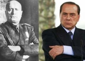 Berlusconi sigue elogiando el fascismo de Mussolini