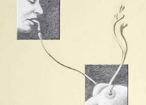 El polifacético Aute inaugura exposición de su 'Obra Gráfica' en Colmenar Viejo