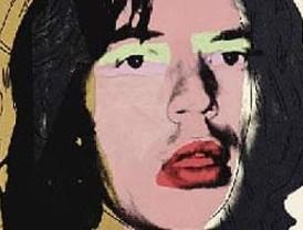 Recuperan retrato de Mick Jagger pintado por Warhol