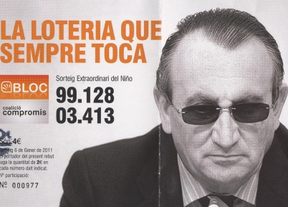Carlos Fabra pide 30.000 euros por utilizar su imagen en la lotería