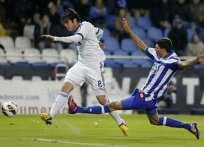 El Madrid, con un gran Kaká y doblete de Higuaín, salva los muebles y remonta en Riazor (1-2)