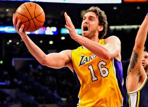 A falta de Kobe... ahí está el gran Pau Gasol: con su partidazo lleva a la victoria a 'sus' Lakers ante los Hornets (91-93)