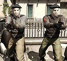 ETA inspira a 'los malos' del videojuego Counter Strike