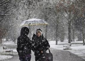 La nieve llega: Madrid capital también espera un manto blanco con alerta naranja