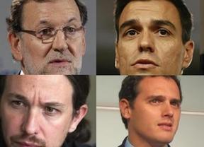 Rajoy y Sánchez se van a los toros: penúltima jornada de campaña con el presidente en el coso de Valencia y el socialista en la de Cáceres