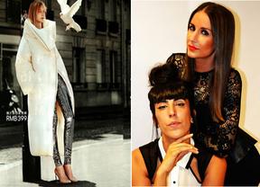 Paloma MÖ, diseñadora de moda y Jessica Yaben, estilista