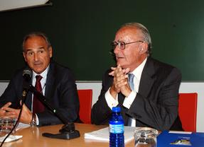 Juan Ramón de Páramo (i) y Javier Delgado Barrio (d)
