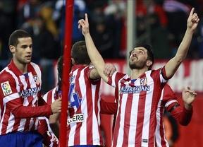 El mejor homenaje a 'su' Luis: el Atlético le ofrece el liderato 'in memoriam' tras golear a la Real Sociedad (4-0)