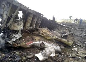 El vuelo MH17 se desintegró sobre Ucrania tras
