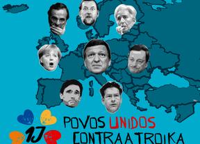 Syriza y los sindicatos se unen a la marcha del 1-J en Madrid