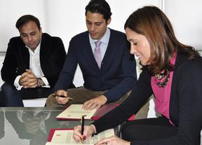 Ayuntamiento de Ciudad Real y AJE suscriben un convenio para fomentar la actividad empresarial