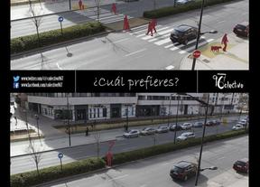 Colectivo967, jóvenes urbanistas y una curiosa campaña para pedir un paso de cebra en Albacete