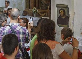 El Ecce Homo de Borja se convierte en centro de peregrinación