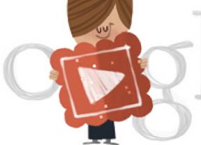 Google le regala un 'doodle' animado a Cupido por San Valentín