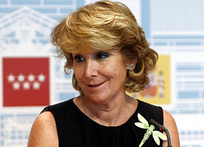 Esperanza Aguirre anuncia la llegada de Adelson para presentar Eurovegas