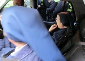 Sor María no confiesa ante el juez pero sí se exculpa en una carta a los medios