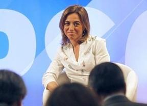 Chacón se alinea con las tesis de Rubalcaba y pide una reforma federal para integrar a Cataluña