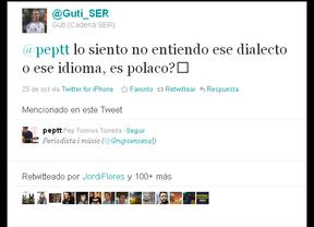 A Guti se le escapa 'Limoncelli', le contestan en catalán y lo confunde con el polaco