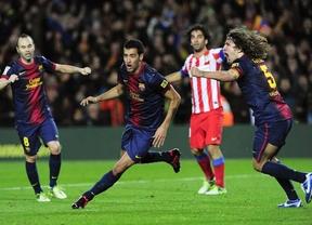 El Barça apuntilla a un Atlético bravo, y que dio la cara, y (casi) gana la Liga ¡en diciembre! (4-1)