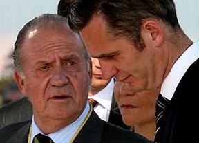El Rey ocultó a Urdangarín en el despacho durante el discurso