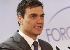 Pedro Sánchez imita la táctica de Ciudadanos y promete mejorías técnicas en el campo laboral