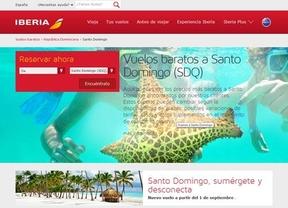 Iberia estrena vuelos a Santo Domingo por 599 euros ida y vuelta