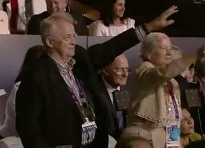¿Saludos nazis en la ceremonia de los Juegos Olímpicos?