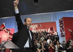 Rubalcaba cierra la campaña convencido de que habrá 'remontada'