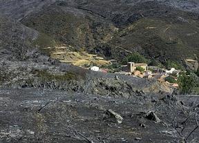Extinguido el incendio de la sierra de Guadalajara
