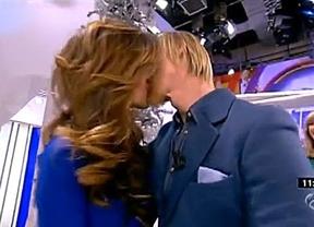 Guti imitó a su ex compañero Casillas: besó en directo a su novia