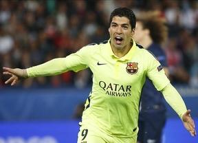 Champions: un imperial Barça, con Suárez de rey, conquista París y sentencia la eliminatoria (1-3)