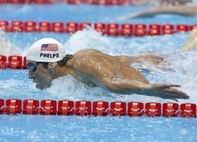 Phelps revoluciona Twitter con su récord olímpico
